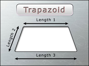 Measure Trapazoid Truck Window