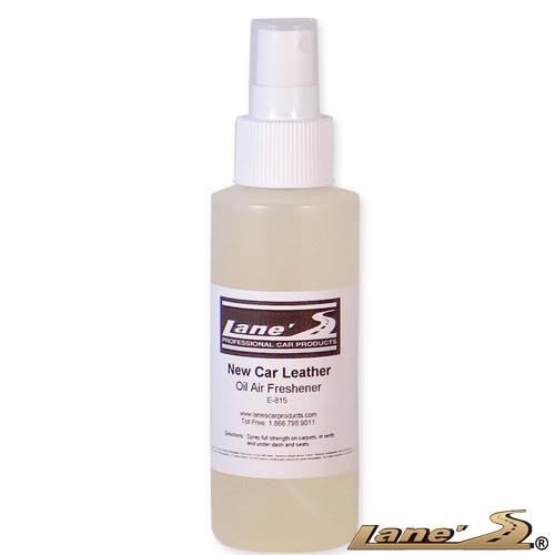 New Car Leather Oil Based Air Freshener 4oz