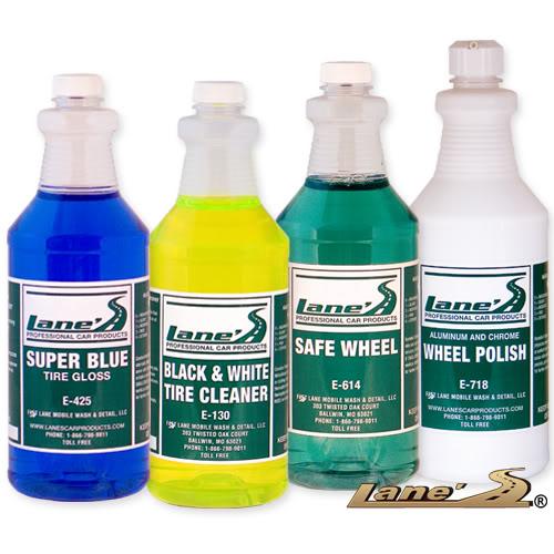 Chrome Wheel & Tire Cleaner Kit