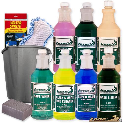 Car Wash Tire & Wheel Paint Prep