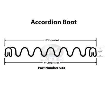 Accordion Boot 544 Profile Measurements